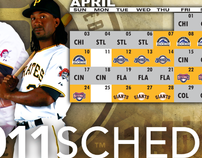 Pittsburgh Pirates 2011 Ticket Boards