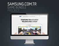 Samsung Game Bundle Campaign Microsite