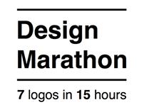 Design Marathon | 7 logos in 15 hours