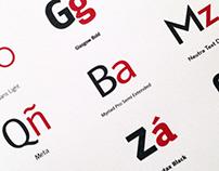 Sans Serif Fonts Display Sheets...