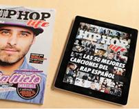 iPad: Especial 50 mejores canciones rap español