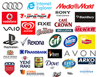 The brands I worked for...