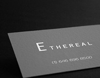 ethereal | business card design
