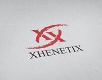 XhenetiX beauty blog identity concept