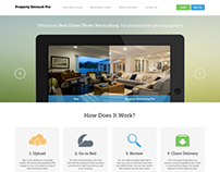 Property Retouch Pro - Website Design