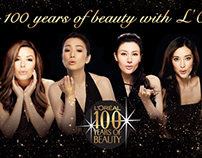 L'Oreal Paris 100 Years of Beauty