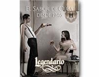 Campaña Imagen Ron Legendario 2008-2010
