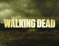 Media campaign for WALKING DEAD TV series / Fox crime