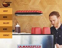 Responsive Design for Ground Up Cafe