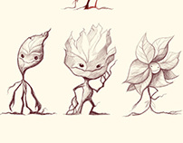 Leaf People Character Design