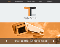 Website design for Security Systems