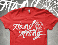 Japan Relief TShirt: Stand Strong