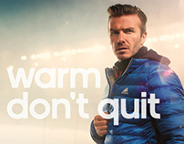 adidas - Climawarm collection microsite