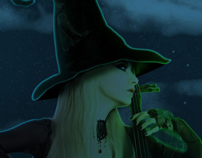 Halloween Facebook Cover Sil D