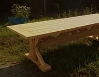 Ulkopöytä (Outdoor table)