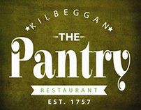 Logo / Branding For Pantry Restaurant Kilbeggan