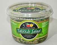 Hot Mama's Tabouli Salad and Hummus Packaging