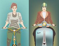 Format pubblicitario - Bike e Motorcycle