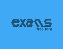 Exans - Free Font