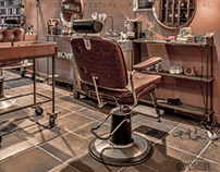 BARBER | WOONBEURS FAIR | real photos, not 3D