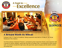 Erdinger website