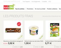 Toutelabio - E-commerce