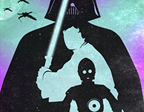 Star wars poster - By TOTAL LOST