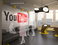 Youtube Offices most appreciated projects on behance