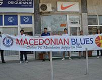 """MACEDONIAN BLUES"" - Stamford Bridge, London"
