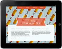 Kombucha Tea App