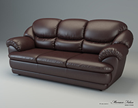 "Sofa ""Osvald"". Creating 3D model."
