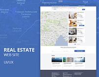 "Real estate web site ""InterService"""