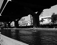Flooded streets of Bangkok