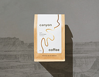 Canyon Coffee Brand & Packaging