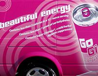 Go Girl Energy Drink Vehicle Wraps