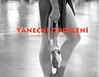 Poster for ballet class