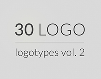 30 logos, logotypes vol 2