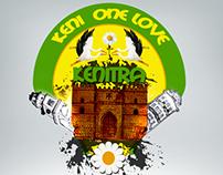 T-shirt keni one love