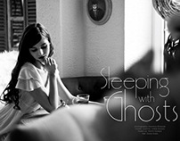Sleeping with ghosts fashion editorial