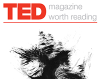 TED Talks Magazine Layout