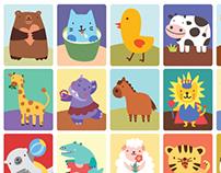 Tipitap Memory Match: Animals!