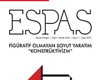 ESPAS Art Magazine Cover