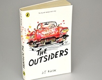 Puffin Design Awards: The Outsiders Book Cover