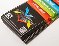 Mystic Hangtag hanger - Featherlite neoprene promotion
