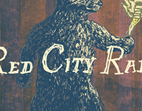 Red City Radio Poster