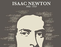 Afiche - Isaac Newton