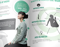 Pilates Corporate Booklet Design