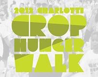 2012 Charlotte Crop Hunger Walk Branding