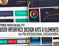 Flat UI Design Bundles for Graphic Designers