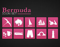 Bermuda Themed Icon Set 1